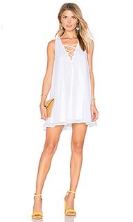 Платье со шнуровкой rancho mirage - Show Me Your Mumu