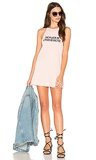Платье-майка bonjour champagne - The Laundry Room