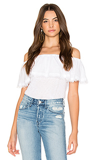 Off shoulder ruffle top - Splendid