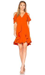 Платье с прорезями на плечах nicola - aijek