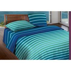 Постельное белье 2,0 Stripe Blue mint, БИО Комфорт, WENGE Motion