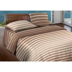 Постельное белье 2,0 Stripe Brown, БИО Комфорт, WENGE Motion