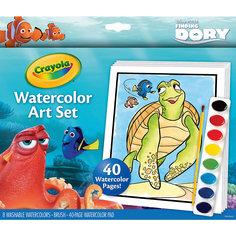 """Набор с краской и раскрасками """"В поисках Дори"""", Crayola"""