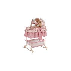 Колыбель-качалка Florestica, Pituso, розовый
