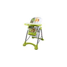 Стульчик  для кормления Sol Африка, Pituso, зеленый/серый/белый
