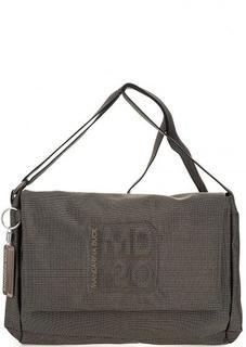 Текстильная сумка с откидным клапаном Mandarina Duck