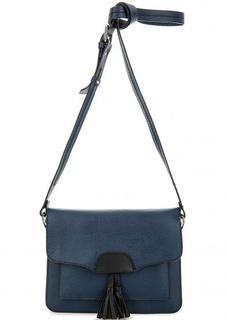 Синяя сумка с двумя отделами Gianni Conti