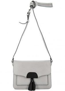 Серая сумка с откидным клапаном Gianni Conti