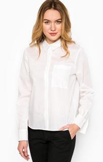 Белая рубашка прямого кроя More & More