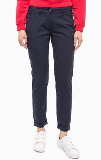Синие зауженные брюки MET