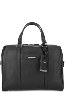 Кожаная сумка с короткими ручками Baldinini