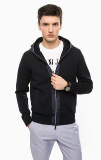 Вязаный кардиган с капюшоном Armani Jeans