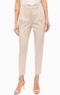 Бежевые брюки с карманами Drykorn