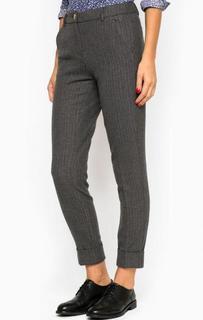 Укороченные брюки из полиэстера с добавлением вискозы и шерсти River Woods
