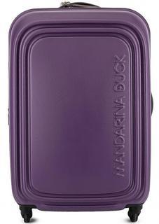 Чемодан на колесах фиолетового цвета с кодовым замком Mandarina Duck