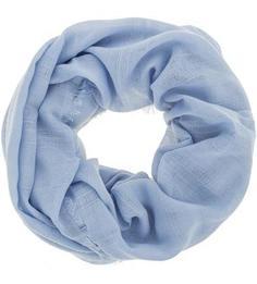 Шарф-хомут синего цвета в полоску S.Oliver