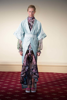 Шелковое пальто Natasha Zinko