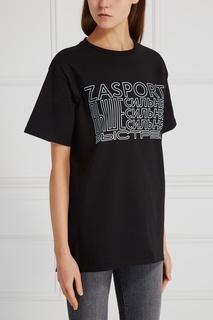 Хлопковая футболка Zasport