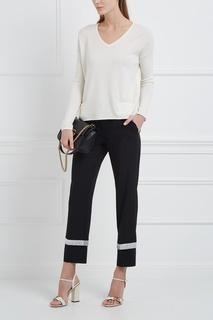 Пуловер из кашемира и шелка Loro Piana
