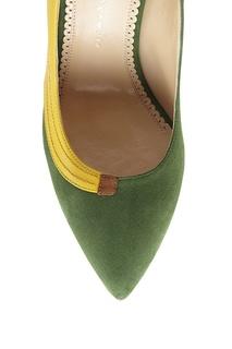 Замшевые туфли Chiquita Sun Charlotte Olympia