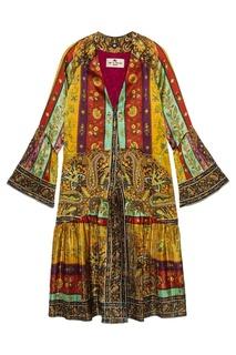 Шелковый халат Etro