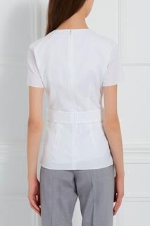 Хлопковая блузка Igiana Hugo Boss