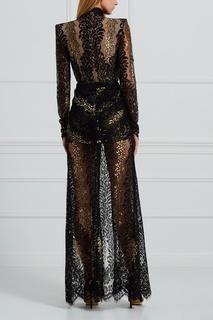 Кружевное платье Alessandra Rich