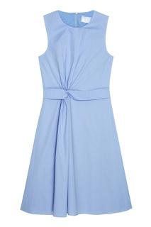 Хлопковое платье Digiana Hugo Boss