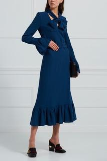Платье из шерсти и вискозы I Am Studio