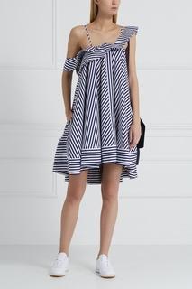 Хлопковое платье Msgm