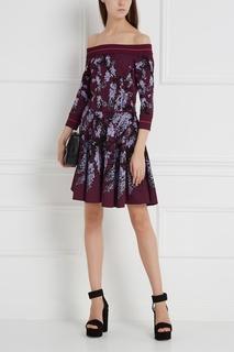 Платье с принтом Elie Saab
