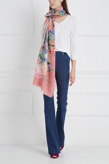 Пуловер из шелка и хлопка Loro Piana