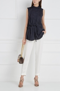 Шелковые брюки Loro Piana