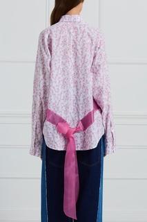 Хлопковая блузка Natasha Zinko
