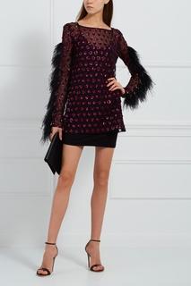 Платье с перьями марабу Esve