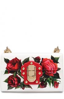 Сумка Lucia с росписью Dolce & Gabbana