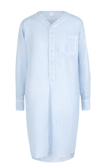 Льняное платье с удлиненной спинкой 120% Lino