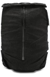 Кожаный рюкзак с внешним карманом на молнии Barbara I Gongini