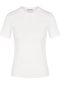 Приталенная футболка с круглым вырезом Acne Studios