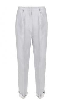 Льняные укороченные брюки со стрелками Dorothee Schumacher