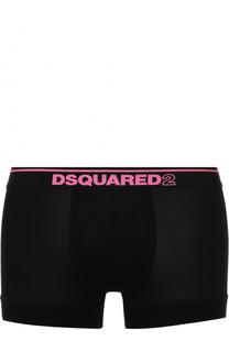 Боксеры из вискозы с широкой резинкой Dsquared2