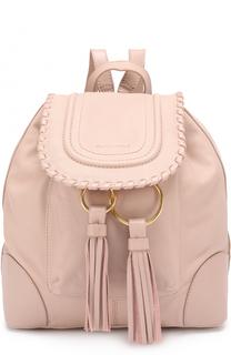 Кожаный рюкзак Polly See by Chloé
