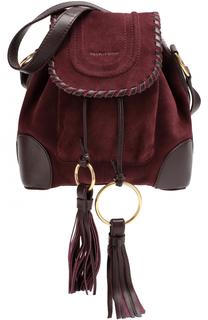 Замшевая сумка Polly See by Chloé