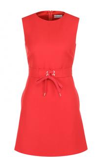 Приталенное мини-платье со шнуровкой REDVALENTINO