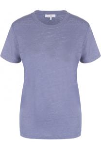 Льняная футболка прямого кроя с круглым вырезом Iro