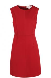 Приталенное мини-платье без рукавов Diane Von Furstenberg