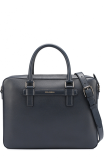 Кожаная сумка для ноутбука Mediterraneo Dolce & Gabbana