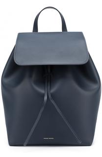 Кожаный рюкзак с клапаном Mansur Gavriel