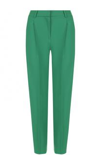 Укороченные брюки прямого кроя с защипами Diane Von Furstenberg