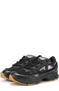 Комбинированные кроссовки Ozweego 2 на шнуровке Adidas by Raf Simons
